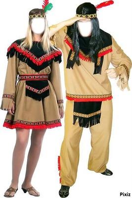 couple d'indiens