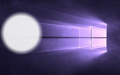 Windows 10 lilás