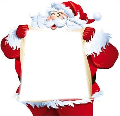 Etiquette Père Noël