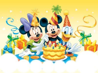 Montage Photo Disney Anniversaire Pixiz