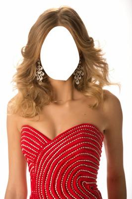 Red Dress Beautiful Girl