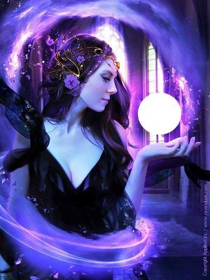 elfes violette