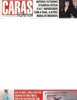 Montaje Fotografico Revista Caras Fotomontaje Pixiz