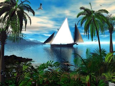 Vacances en mer