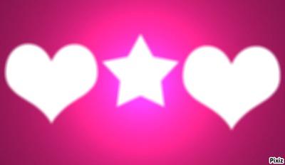 étoiles et coeur!!