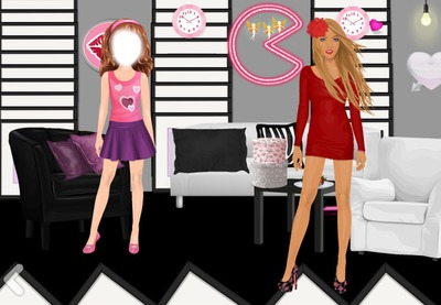 Photo montage Stardoll Suite de chatouilledu78 - Pixiz
