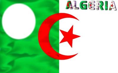 Cadre Drapeau De L'Algérie<3