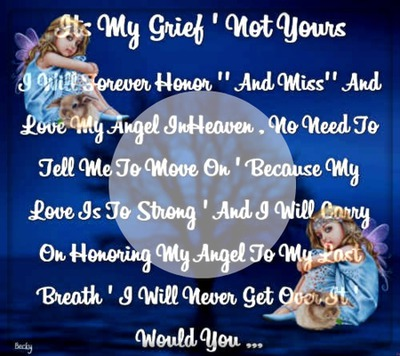 its my grief