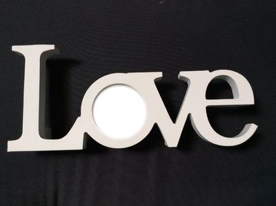 Love + photo fond noir