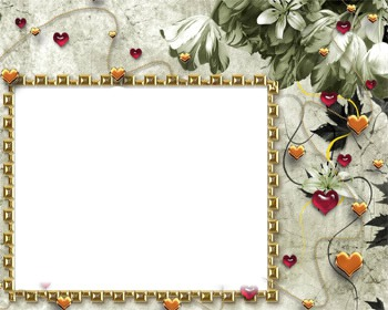 Luv_Flowers & Hearts frame