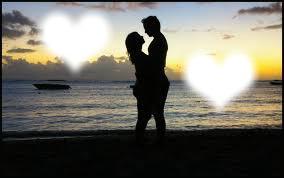 Les Amoureux sur la plage:$