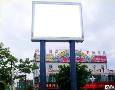 Pancarte en Chine