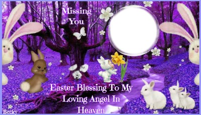 easter blessing for my angel