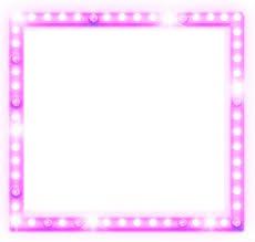 Quadro com Glitter Rosa Claro