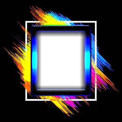 Cadre color Floriane
