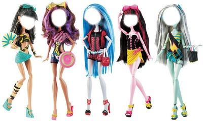 monster high goules vacances