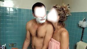 Fille A La Douche photo montage un gars une fille dans la douche - pixiz