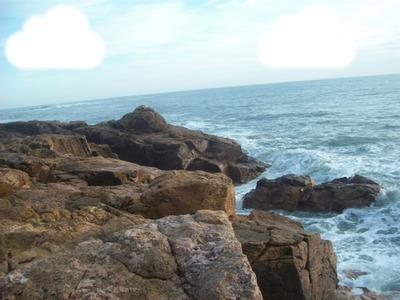 au bord de la mer...