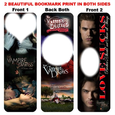Photo Montage Vampire Diaries Bookmarks For You Pixiz