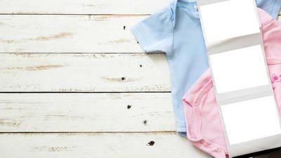 Body bébé rose et bleu