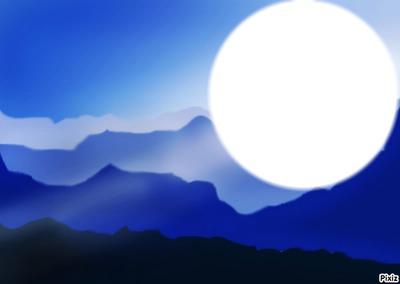 lune de paix ...