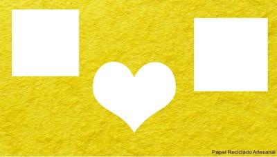 capa para facebook amarela