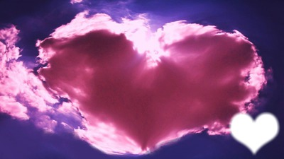 coeur rose d'amour