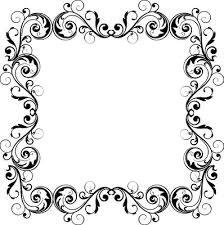 arabesque noir et grise