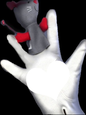 un coeur sur la main