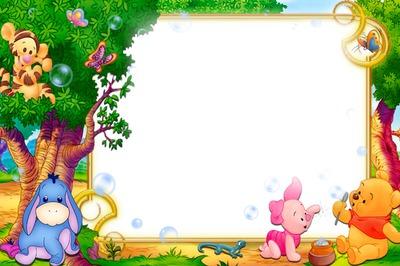 winnie pooh bebe - Winnie The Pooh Picture Frame