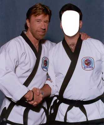 montage photo chuck norris pixiz. Black Bedroom Furniture Sets. Home Design Ideas