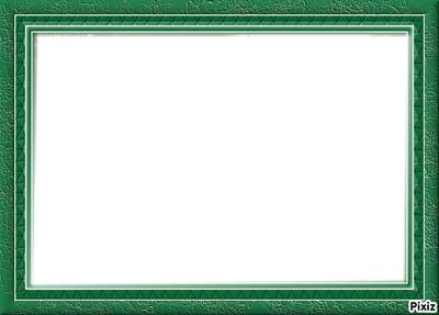 Cadre vert amande