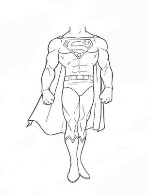 Montage Photo Coloriage Superman Pixiz