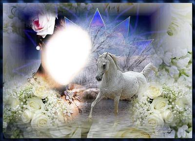Fantasy Face, Face, Horse