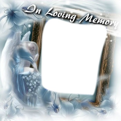 Photo montage In loving memory - Pixiz