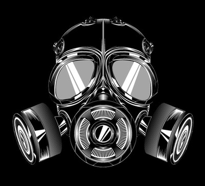 Broken-Gas-Mask-Tattoo-Design-1