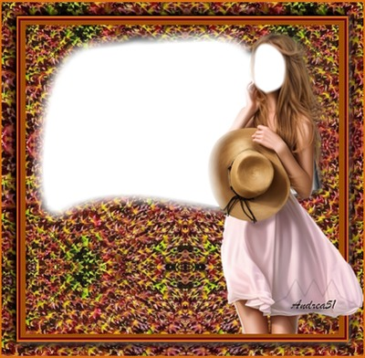 Andrea51 /My frame is unique. There's a supplement waiting for you. Decorate more/