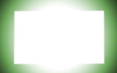cadre vert lumineux