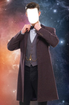 Matt Smith 11th Doctor's face