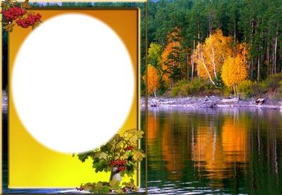 cadre d'automne*