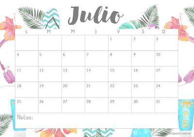 mes julio