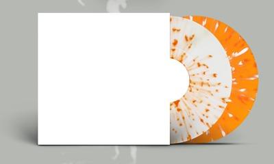 orange splatter vinyl