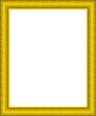 cadre jaune vif