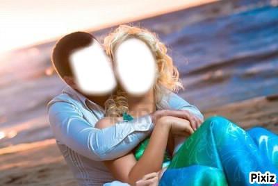couple sur plage