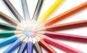 crayons...