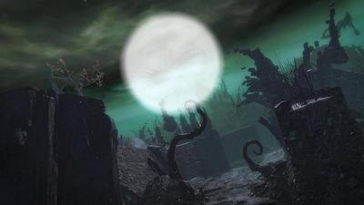 halloween cimetière