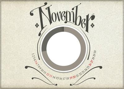 Noviembre - DECORARFOTOS.org