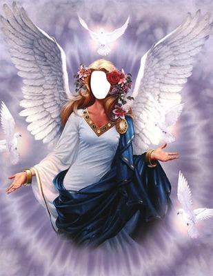 Ange Femme photo montage ange femme - pixiz