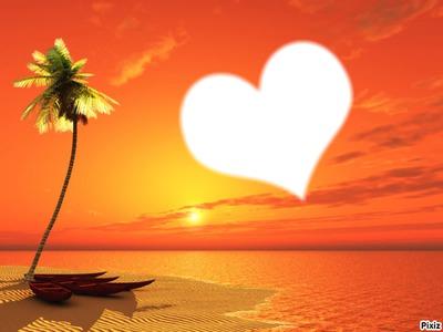 Amour de plage !