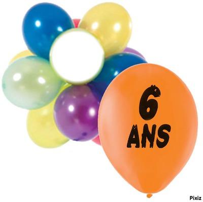 Montage photo anniversaire 6 ans pixiz - Anniversaire mariage 4 ans ...